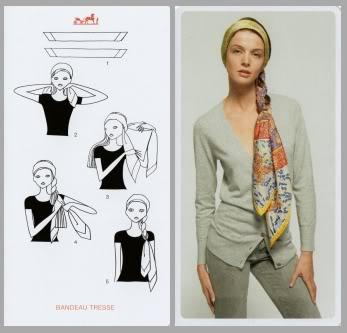 Resultado de imagen para como usar bandanas en la cabeza