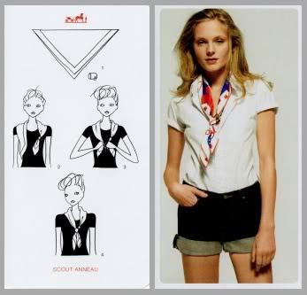 20 Ideas Para Usar Un Pañuelo Por Hermès Piensa En Chic