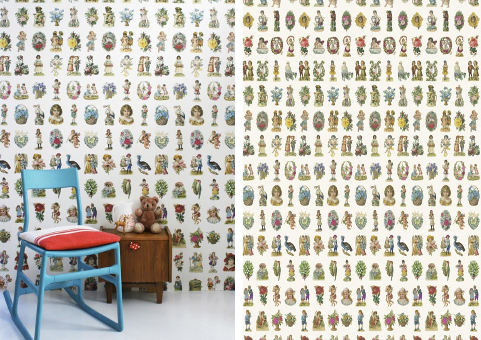 Chic deco papeles decorativos para paredes piensa en chic - Papeles decorativos pared ...
