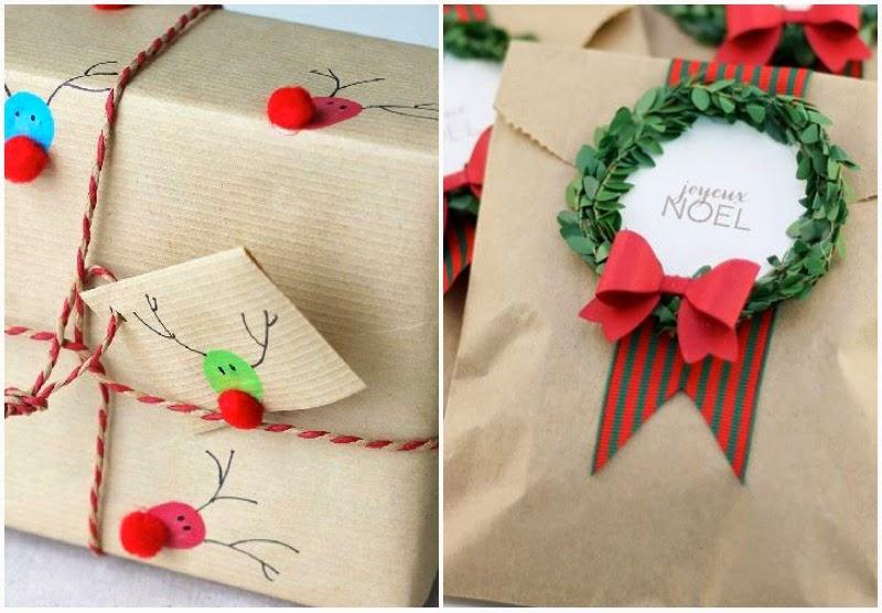 Chic christmas chic deco envolver regalos para navidad - Ideas para regalos de navidad originales ...