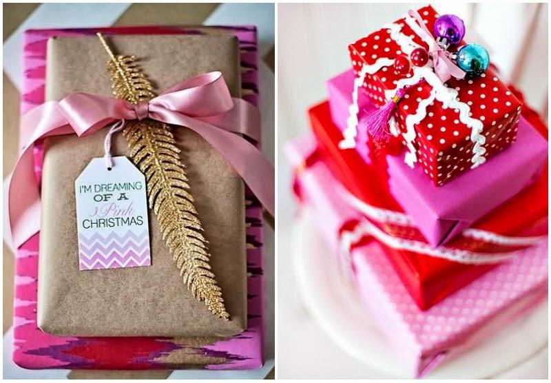 Chic christmas chic deco envolver regalos para navidad for Ideas para christmas de navidad